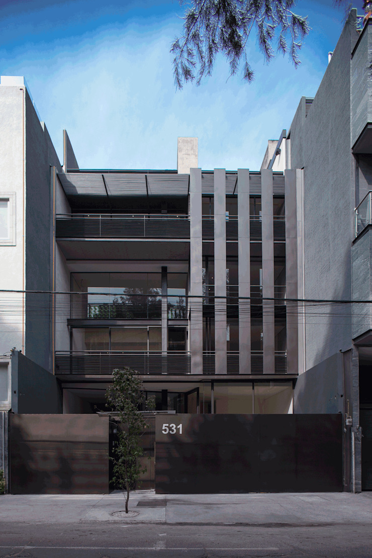 Hesiodo Casas minimalistas de Cm2 Management Minimalista