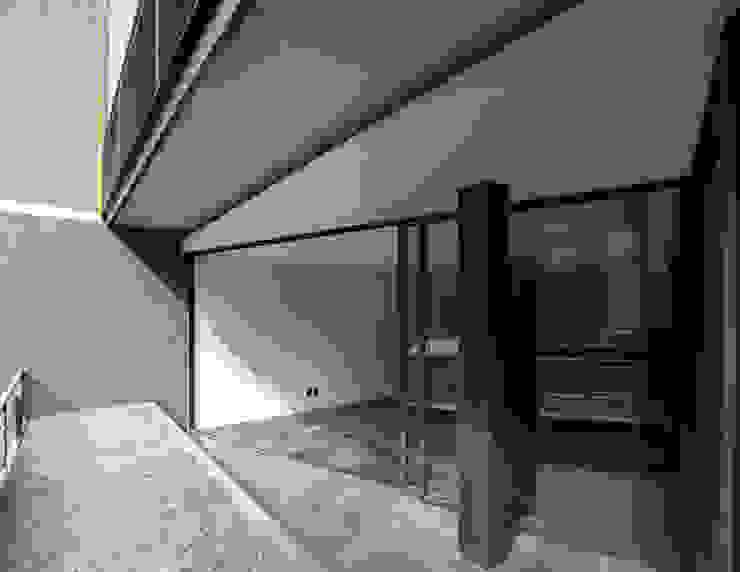 Hesiodo Balcones y terrazas minimalistas de Cm2 Management Minimalista Concreto