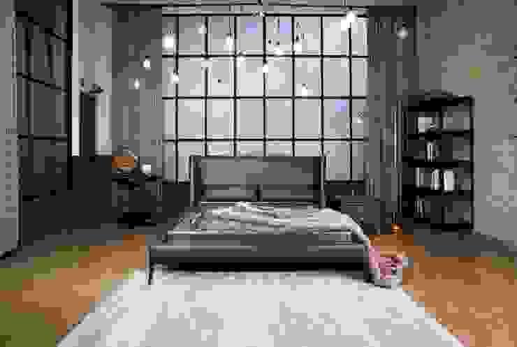 리스톤 딘 침대와 운모석 스톤 매트리스: 리스톤의 현대 ,모던