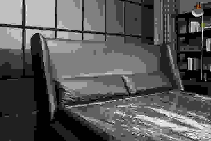 리스톤 딘 침대와 운모석 스톤 매트리스: 리스톤의 현대 ,모던 돌