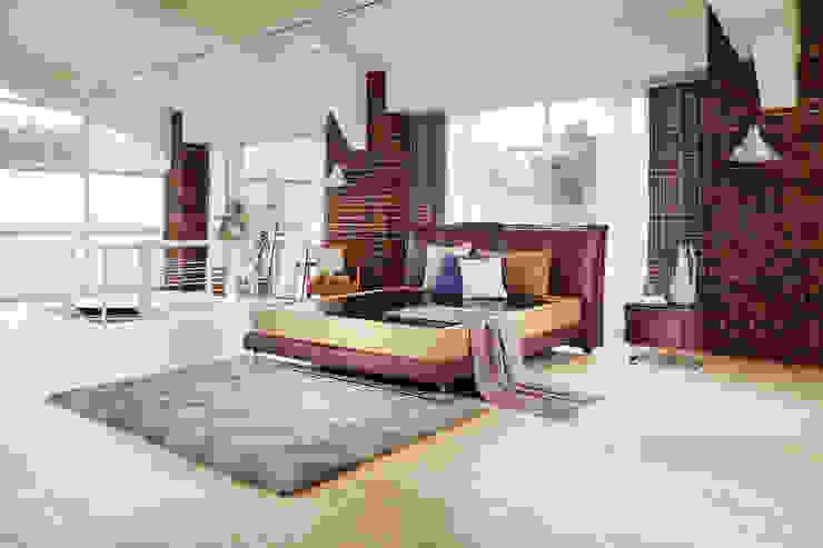 리스톤 로시오 침대와 귀사문석 스톤 매트리스: 리스톤의 현대 ,모던