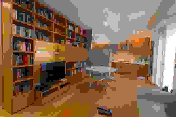 Ristrutturazione OL arCMdesign - Architetto Michela Colaone Soggiorno moderno