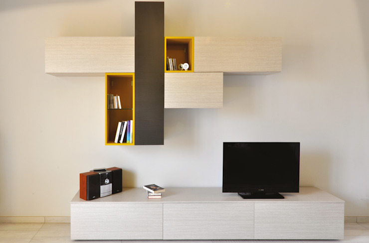 Ristrutturazione SG Soggiorno moderno di arCMdesign - Architetto Michela Colaone Moderno