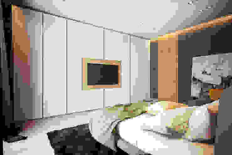 Solo Design Studio Modern Bedroom