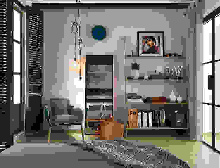 Dormitorios mediterráneos de ONE STUDIO Mediterráneo