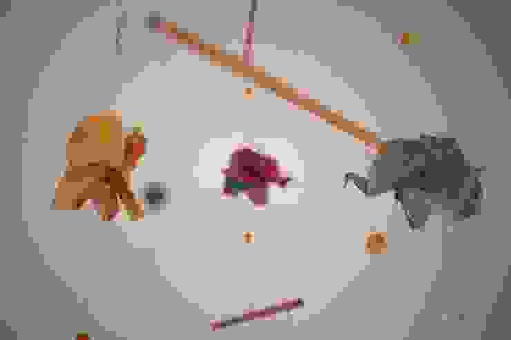 Mobile origami éléphants par MiZenpli Minimaliste