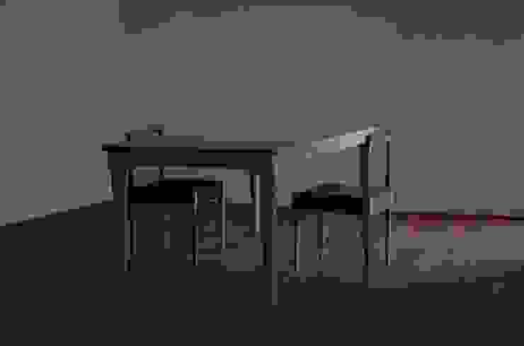 ダイニングテーブルとチェアー②: bungalowが手掛けた現代のです。,モダン