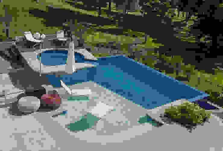 Residencial Piscinas modernas por Pinheiro Machado Arquitetura Moderno