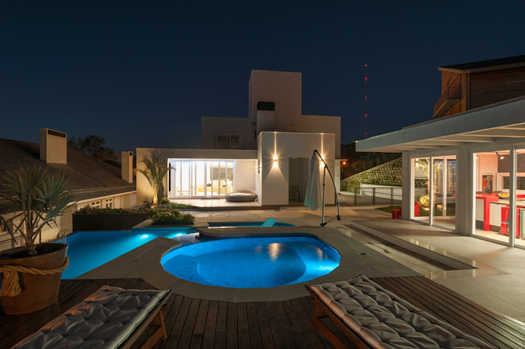 Residencial Casas modernas por Pinheiro Machado Arquitetura Moderno