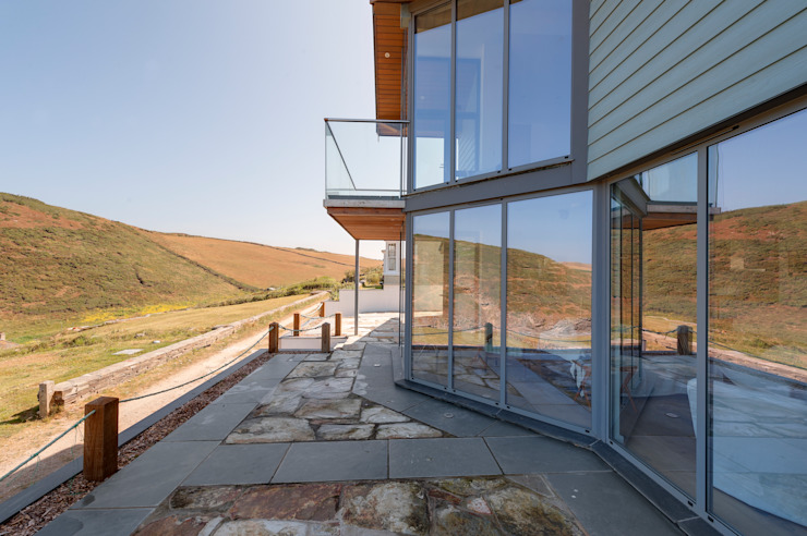 Rockside, Polzeath, Cornwall Modern houses by Trewin Design Architects Modern