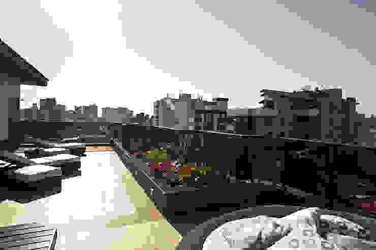 Reforma residencial Varandas, alpendres e terraços modernos por Pinheiro Machado Arquitetura Moderno