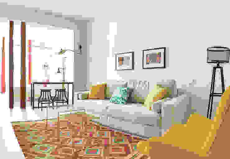 StudioBMK 现代客厅設計點子、靈感 & 圖片