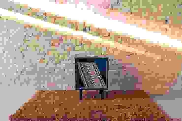 Cubo 33 di POTlab Eclettico Legno Effetto legno