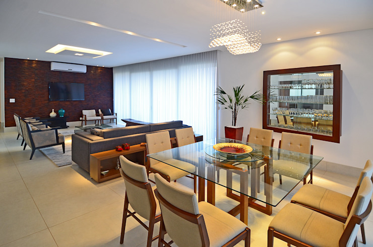 Modern dining room by Cabral Arquitetura Ltda. Modern