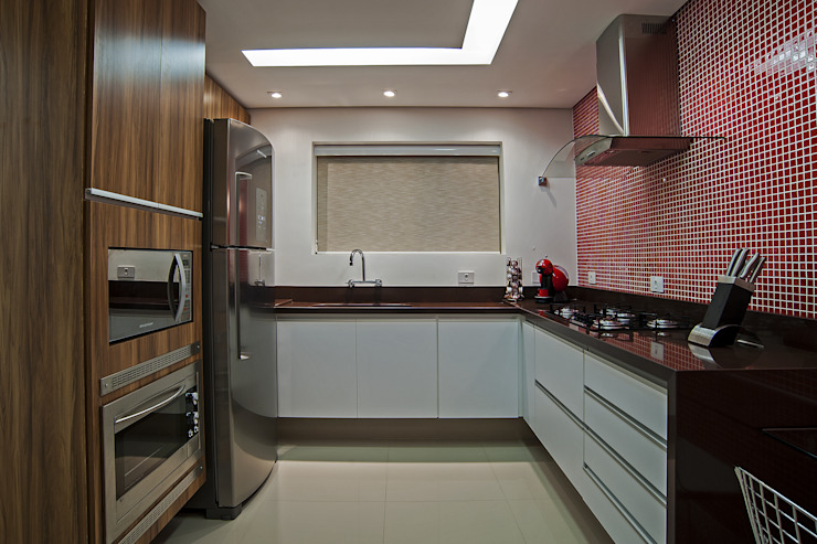 Studio Boscardin.Corsi Arquitetura Modern kitchen