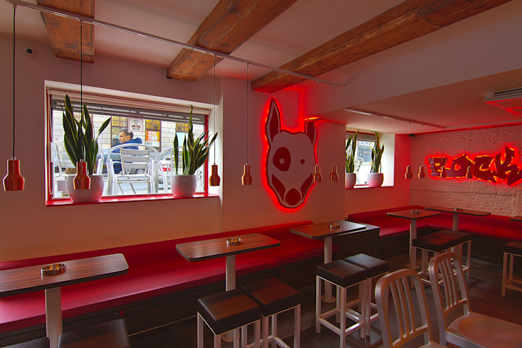 Diego Alonso designs Moderne Bars & Clubs