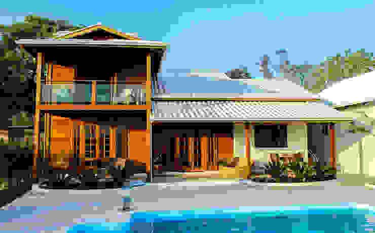 บ้านนอก  โดย CASA & CAMPO - Casas pré-fabricadas em madeiras, ชนบทฝรั่ง