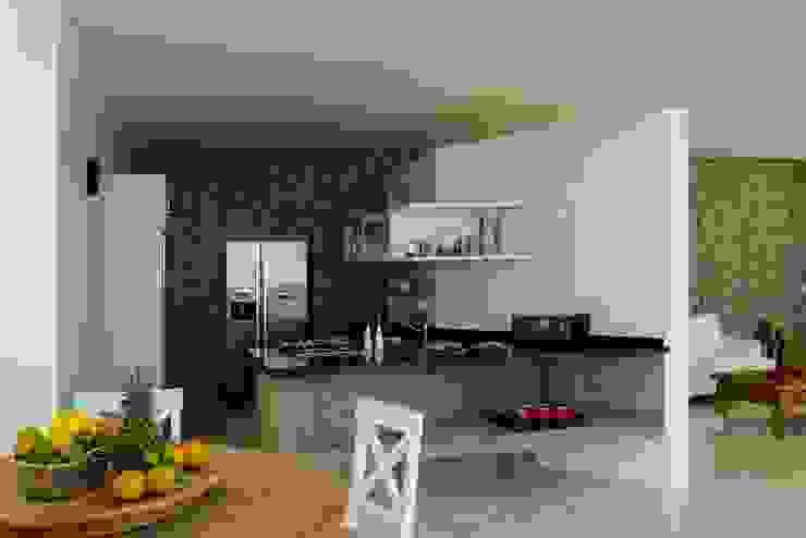Casa Cassemunha (Ilha Bela) Casas tropicais por Enrico Benedetti Arquitetos Tropical