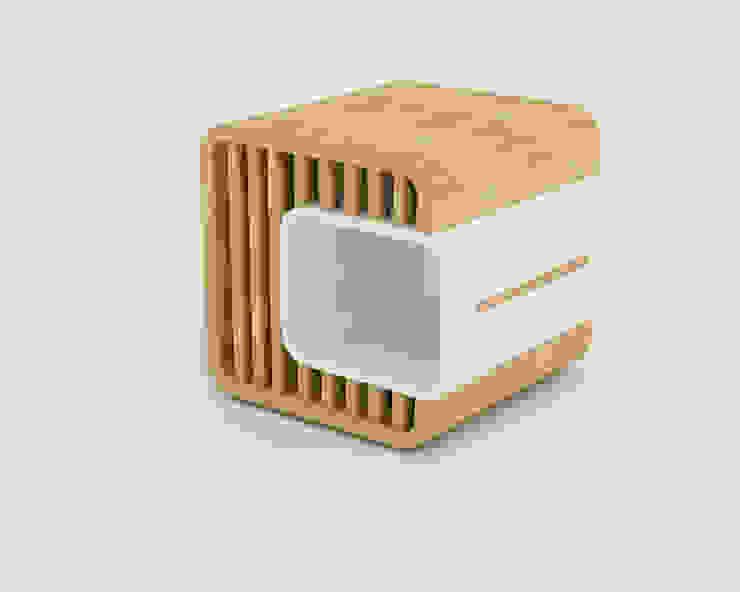 Dual box stool: modern  by Preetham  Interior Designer,Modern
