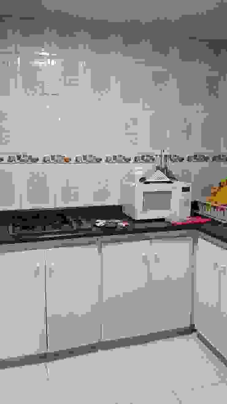 Cocina Integral antes de Proyectar Diseño Interior Minimalista Aglomerado