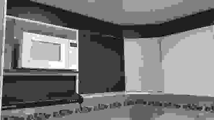 Remodelacion de Cocina Integral de Proyectar Diseño Interior Minimalista Aglomerado