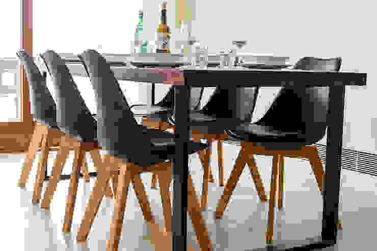 Comedores de estilo moderno de ISLABAU constructora Moderno