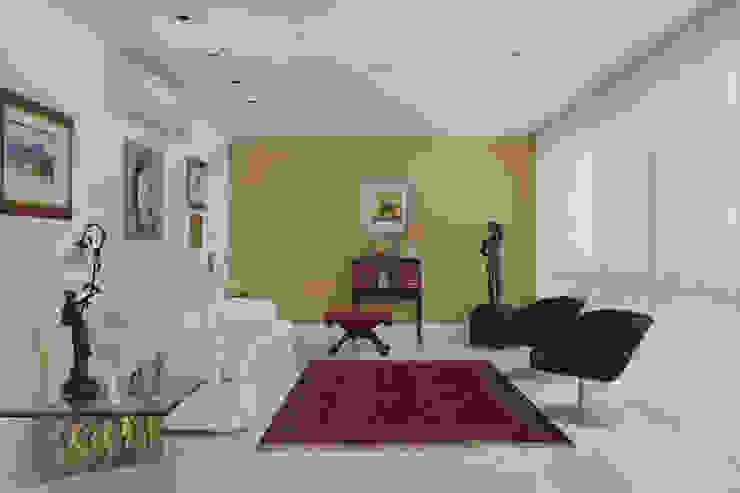Apartamento Leblon - RJ Salas de estar modernas por DG Arquitetura + Design Moderno