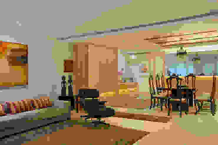 Apartamento Leblon – RJ Salas de estar modernas por DG Arquitetura + Design Moderno