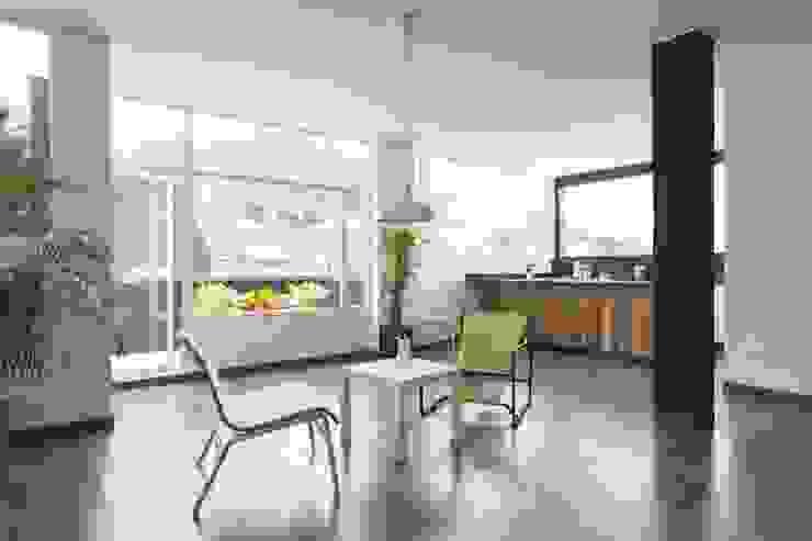 Moderne Wohnzimmer von ODA - Oficina de Diseño y Arquitectura Modern