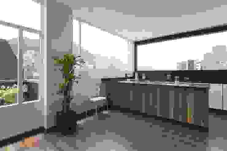 Remodelación de Apartamentos: Cocinas de estilo  por ODA - Oficina de Diseño y Arquitectura,