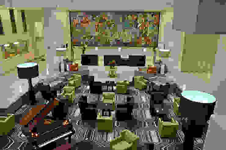 Recepción Hoteles de estilo moderno de Factor Metro Cúbico Moderno