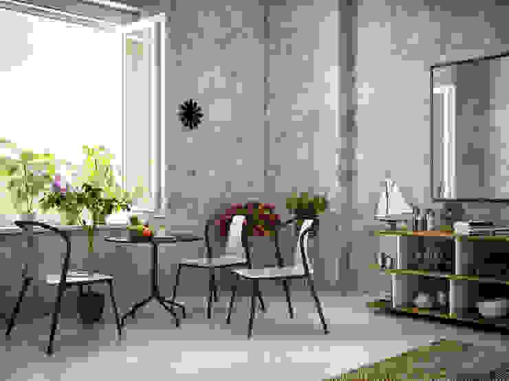 Belleville Chair v1 izzet ALŞAN 3D Architectural Visualization Kolonyal Ahşap-Plastik Kompozit