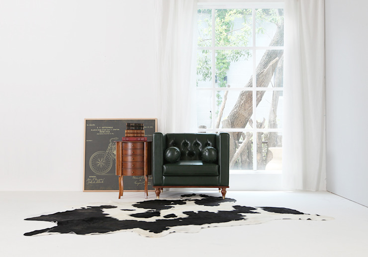 STYLE-K Living roomSofas & armchairs Fake Leather Green
