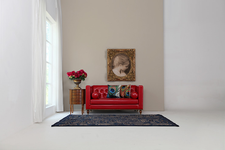 STYLE-K Living roomSofas & armchairs Fake Leather Red