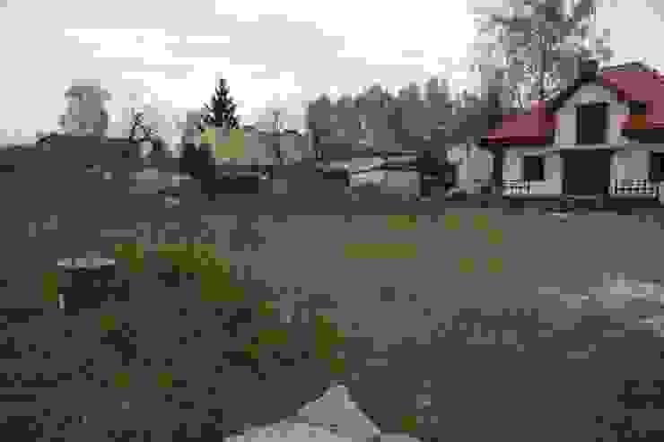 Widok na teren przed założeniem trawnika od BioArt Ogrody, Architektura Krajobrazu