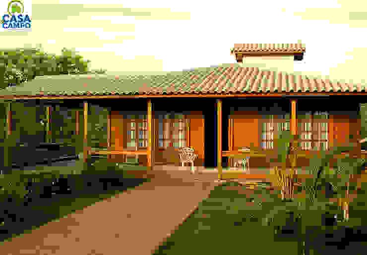 โดย CASA & CAMPO - Casas pré-fabricadas em madeiras
