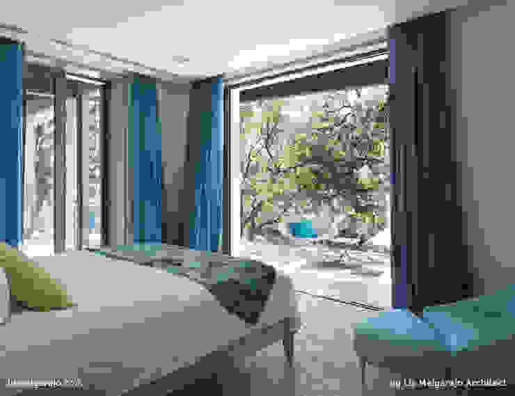 Zagaleta G31 Dormitorios de estilo moderno de Lis Melgarejo Arquitectura Moderno