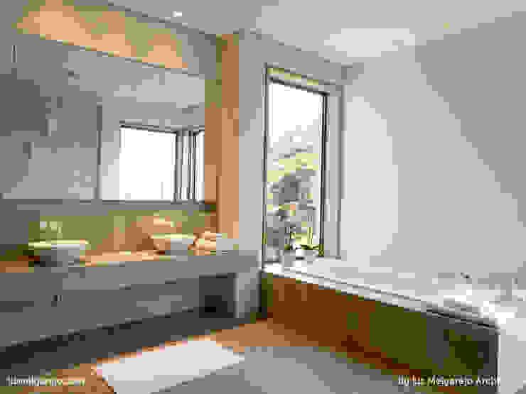 Moderne Badezimmer von Lis Melgarejo Arquitectura Modern