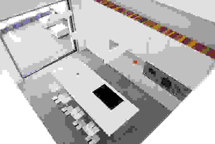 Zagaleta G31 Cocinas de estilo moderno de Lis Melgarejo Arquitectura Moderno