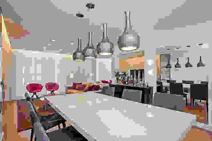 Studio Boscardin.Corsi Arquitetura Modern Dining Room