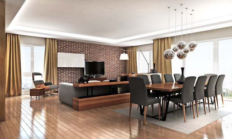 Moderne Wohnzimmer von Cephe Çizimi Modern