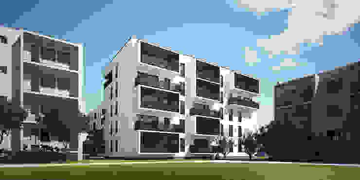 Casas de estilo minimalista de PROSTO architekci Minimalista