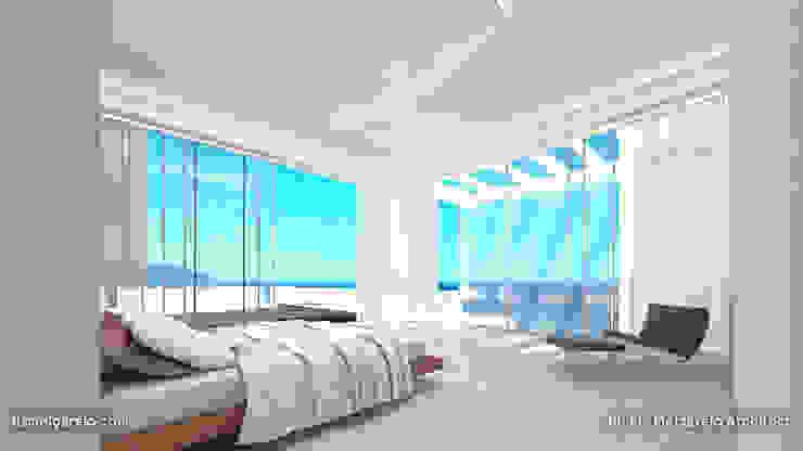 Residencia Luxury Dormitorios de estilo mediterráneo de Lis Melgarejo Arquitectura Mediterráneo