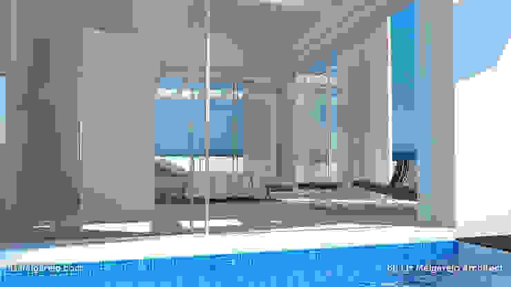 Residencia Luxury Piscinas de estilo mediterráneo de Lis Melgarejo Arquitectura Mediterráneo