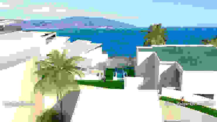 Residencia Luxury Casas de estilo mediterráneo de Lis Melgarejo Arquitectura Mediterráneo