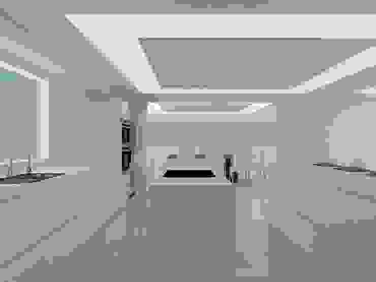 COCINA Cocinas de estilo moderno de ARCE FLORIDA Moderno Madera Acabado en madera