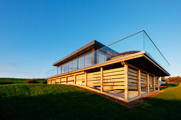 Exterior Casas modernas de Perfect Stays Moderno