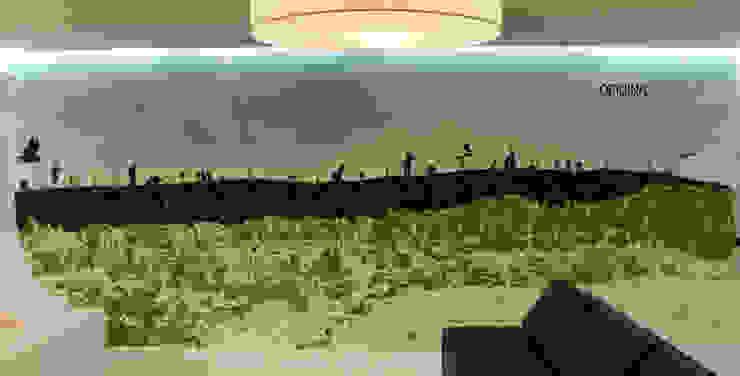Pareti & Pavimenti in stile minimalista di Oficina Design Minimalista