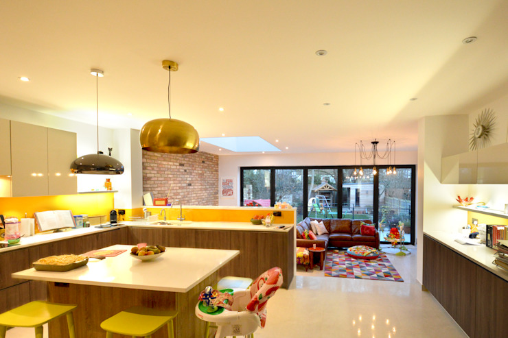 Grange Park, Enfield N21 | House extension Modern Kitchen by GOAStudio | London residential architecture Modern