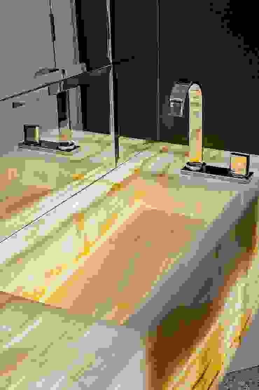 Klassieke badkamers van Studio Boscardin.Corsi Arquitetura Klassiek